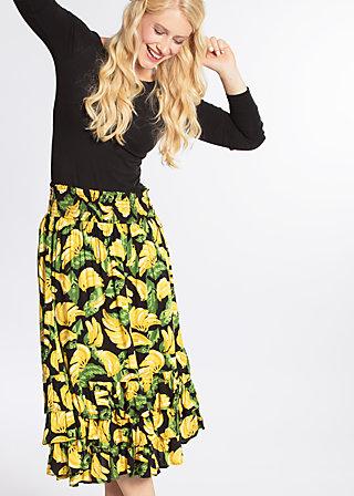 fiesta mexicana skirt, bold banana, Woven Skirts, Schwarz