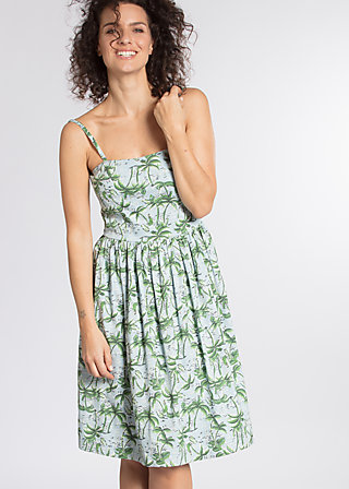 fun in acapulco robe, hippie hawaii ho, Webkleider, Blau