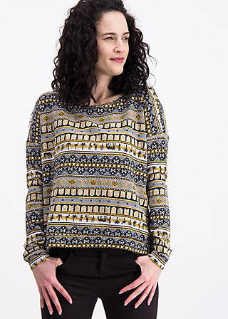 hang loose sweat , caravan of savanna, Pullover & leichte Jacken, Schwarz