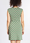 hooponopono peace dress, pinepink pineapple, Jerseykleider, Grün