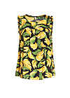 kilauea tete a tete top, bold banana, Shirts, Black