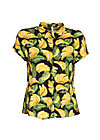 magnum and me blouse, bold banana, Blusen, Schwarz