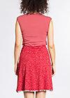 maka shaka skirt, mediterrain melange, Jerseyröcke, Rot