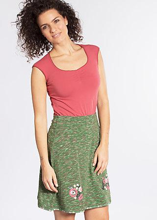 maka shaka skirt, melon melange, Jerseyröcke, Grün