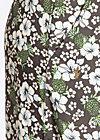 maui flatter pants, hula hibiscus, Stoffhosen, Grau