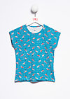 mimis magic tee, flamingo bingo, Shirts, Blau