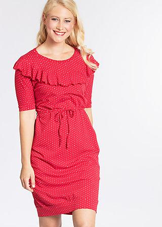 molokai leisure dress, spirit of dots, Kleider, Rot