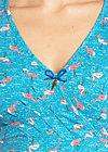 o'ahula aloha dress, flamingo bingo, Jerseykleider, Blau