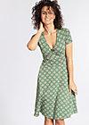 o'ahula aloha dress, pinepink pineapple, Jerseykleider, Grün