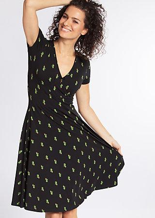o'ahula aloha dress, cute cactus, Jerseykleider, Schwarz