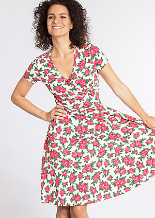o'ahula aloha dress, holy rose, Jerseykleider, Weiß