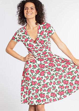 o'ahula aloha dress, holy rose, Jersey Dresses, Weiß