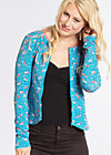 rose of santa fe zip , flamingo bingo, Jacken, Blau