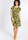 senhorita frida folk dress, bold banana, Webkleider, Schwarz