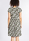 senhorita frida folk dress, hula hibiscus, Kleider, Grau