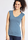 sunshine sister top, sea of dots, Tops, Blau