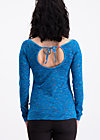 waikiki sailorette longsie, mokulele melange, Langarm, Blau