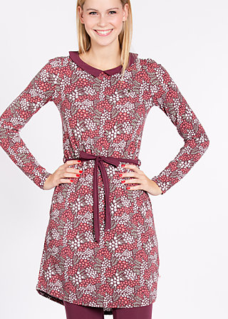 dirnrößchen dress, petite pot floree, Jerseykleider, Rot