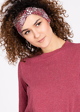 hollewood hairband, petite pot floree, Haarbänder, Rot