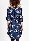 lovely fawn of mine dress , unwritten story 2, Woven Dresses, Blau