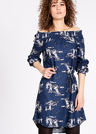 lovely fawn of mine dress , unwritten story 2, Dresses, Blau