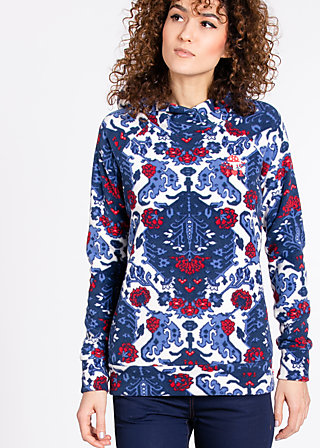 queen drosselbart hoody, royal rug, Jacken, Blau