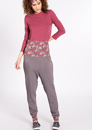 royal deepcrotch pants, dusty wave, Hosen, Grau