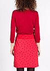 tale of a girl skirt  , richness red, Jersey Skirts, Rot