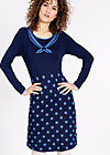 three wishes dress, pearls of ice, Strickkleider, Blau