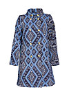 zauberzigzag coat , carpet of castle, Coats, Blau