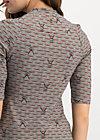 asian fusion shirt, top ramen, Shirts, Beige