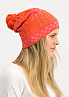 baltic bommel bonnet, norwegian polar lights, Accessoires, Orange