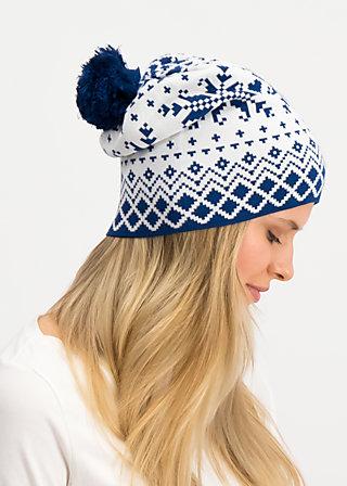baltic bommel bonnet, norwegian snowflake, Accessoires, Weiß