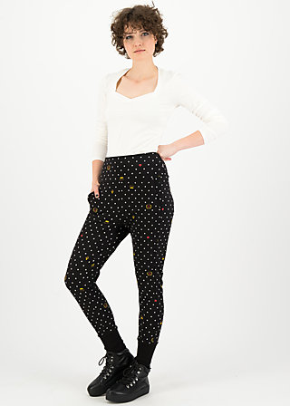 belle de palazzo pants, kingly souvenirs, Trousers, Black