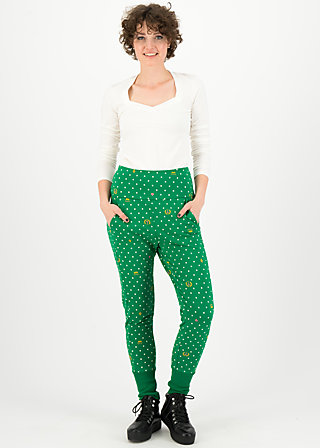 belle de palazzo pants, queenly souvenirs, Trousers, Green