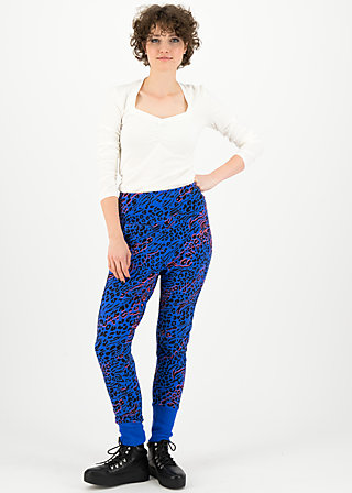 belle de palazzo pants, wild thing, Trousers, Blue