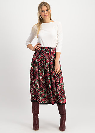crowningday skirt, scottish taste, Skirts, Red