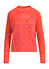 cosy and cool pully, norwegian polar lights, Pullover & leichte Jacken, Orange