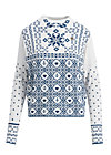 cosy and cool pully, norwegian snowflake, Pullover & leichte Jacken, Weiß