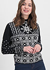 cosy and cool pully, norwegian stellar, Pullover & leichte Jacken, Schwarz