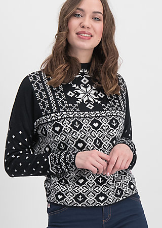 cosy and cool pully, norwegian stellar, Jumpers & lightweight Jackets, Black