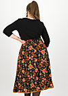 crowningday skirt, royal ruby, Röcke, Schwarz