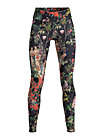 geisha garden pants, secret garden, Leggings, Schwarz