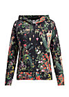geisha garden zip, secret garden, Jumpers & lightweight Jackets, Black