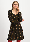 happy folks joy dress, majestic medallion, Kleider, Schwarz