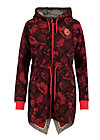 her casual highness swearka, hidden garden flowers, Jumpers & lightweight Jackets, Red