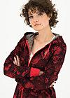 her casual highness swearka, hidden garden flowers, Pullover & leichte Jacken, Rot