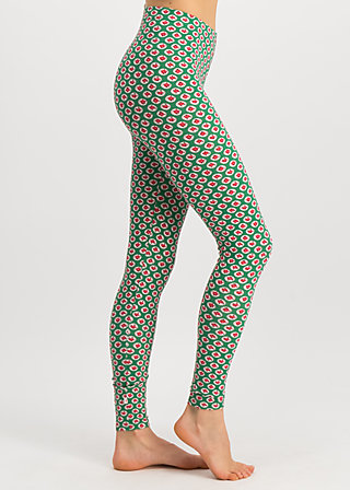 kesse grenardesse legs, englands rose, Leggings, Green