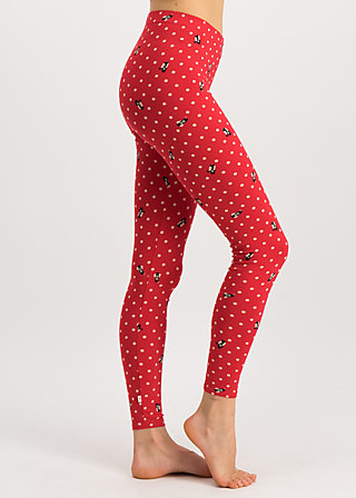 kesse grenardesse legs, gracious geishas, Leggings, Red