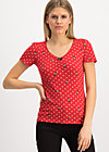 kimonadette tee, gracious geishas, Shirts, Red